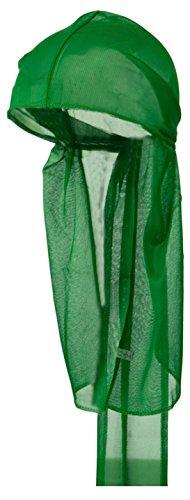 KELLY GREEN Du-rag Stocking Do-Cap Hair-Wrap Waves Sleeping ()