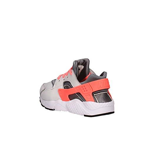 Nike  Nike Huarache Run (Ps), Jungen Sneaker grau Grau / Rosa