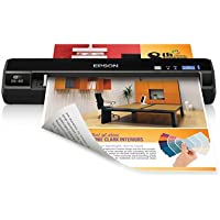 Epson WorkForce DS-40 Color Portable Scanner (Certified Refurbished)
