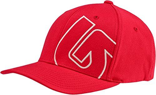 Price comparison product image BURTON Boys Slide Style Flex Fit Cap, One Size, Mars Red