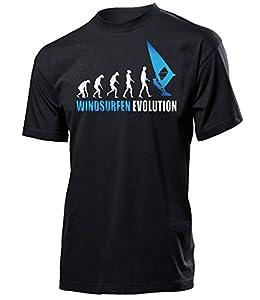 WINDSURFEN EVOLUTION 626(H-SW-Weiss-Blau) Gr. XXL
