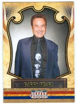 Barry Pearl trading card (Grease Doody) 2011 Panini Americana #51