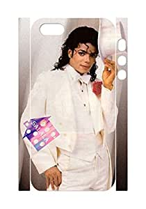 The Phones Case Shop- Customizable Michael Jackson Hard Plastic Case Cover For Iphone 5,5S(3D) By salala.