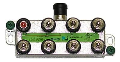 Directv SWM Approved 8-Way Splitter