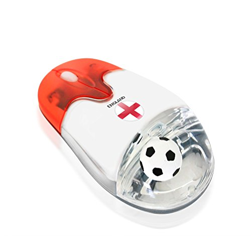 Plutus Luxury Soccer Gift England 2.4G Wireless Optical Mouse USB Receiver English National Flag from Plutus Luxury