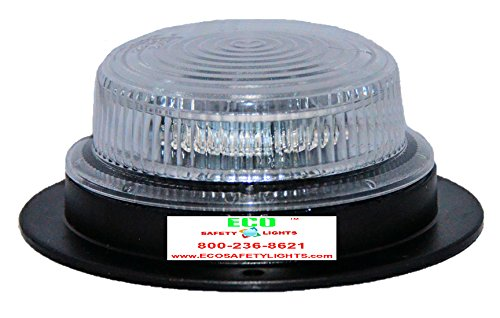 BLP20L9P AMBER YELLOW 12-30V DC UNDERCOVER LOW PROFILE LED EMERGENCY WARNING SAFETY BEACON ()