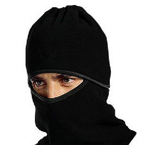 ~ Fleece Sport Ciclismo Snowboard Maschera Bandana Completa Maschera Running Mask Black Hat Antivento Generic