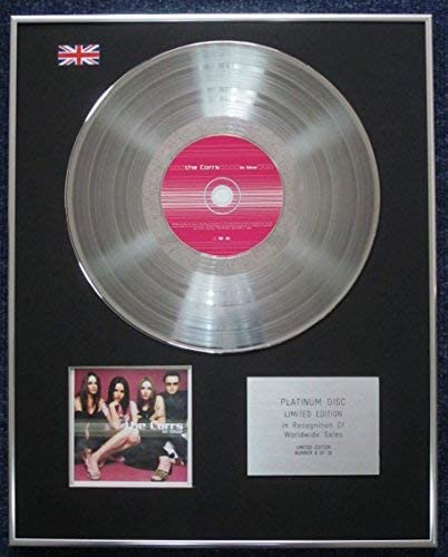 Corrs - Limited Edition CD Platinum LP Disc - In Blue