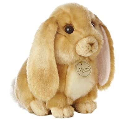 "Aurora - Miyoni - 10"" Lop Eared Rabbit - Tan: Toys & Games"