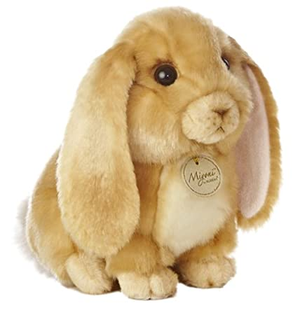 50f0712f6f09 Image Unavailable. Image not available for. Color  Aurora World Miyoni Lop  Eared Rabbit Tan 10 quot  Plush