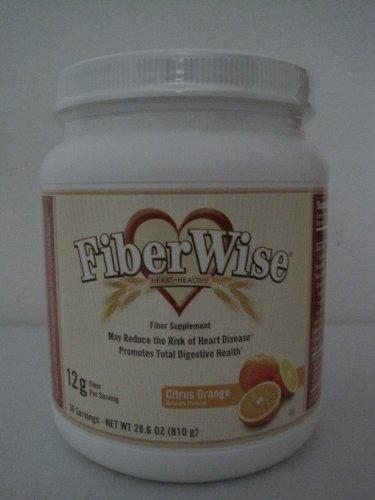 Melaleuca FiberWise Heart Healthy-Fiber Supplement-30 Servings-Net WT 28.6 OZ.(810g) - Orange