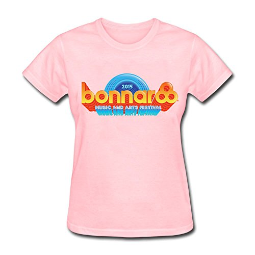 WZJ Women's 2015 Bonnaroo Music And Arts Festival Logo Short sleeve T-shirt