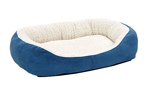 Blue Dog Bed - Midwest Homes for Pets Cuddle Bed, Blue, Medium