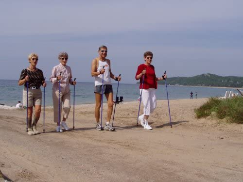 Nordic Walking Carbon VIP Poles are Safer, Lighter, Stronger, More Durable Than Flimsy Collapsible Poles Don t Get Scammed by 2 or 3-Piece Poles from China. Lifetime Warrenty. Free DVD.