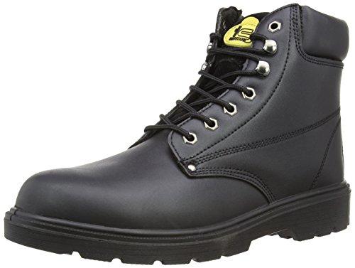 Builder Chaussures Noir Scurit De Tradesafe Mens fSSxwPqI