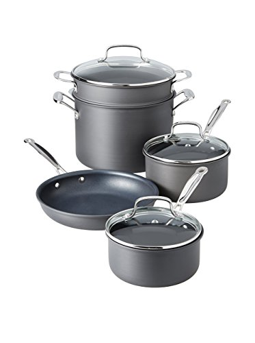 Cuisinart 66 8 Anodized 8 Piece Cookware