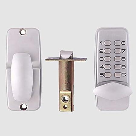 Xueliee Digital Push Button Door Lock Mechanical Code Keyless Entry Door Lock Waterproof R-380B G1