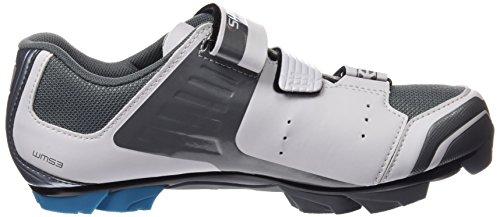 Shimano Shwm53c410w - scarpe da ciclismo su strada Donna, Bianco (White), 41 EU