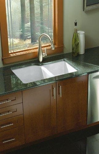Kohler K-5931-4U-0 Executive Chef Undercounter Kitchen Sink, White by Kohler (Image #3)