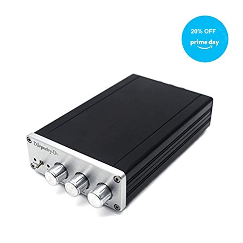 Dilvpoetry D1 TPA5613 Hifi 2.1 Bluetooth 4.0 Digital Amp Audio Power Amplifier 75W2+150W Subwoofer Aluminum Amplifier