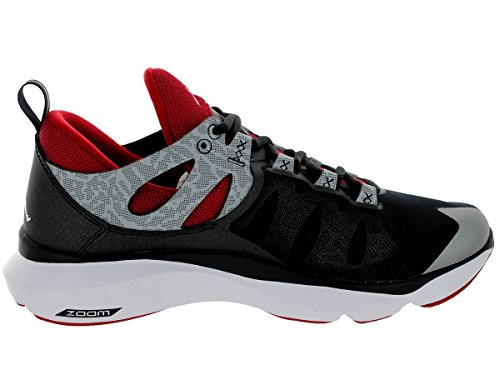 Nike Jordan Flight Runner Laufschuhe Sneaker schwarz/grau/rot