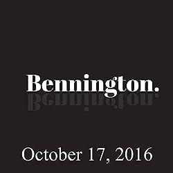 Bennington, October 17, 2016
