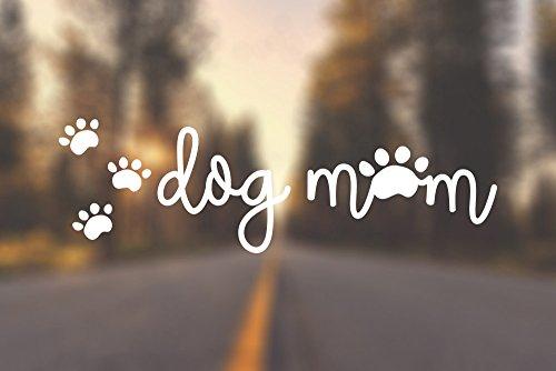 AK Wall Art Dog Mom Cute Prints - Vinyl Decal - Car Truck Laptop - SELECT SIZE