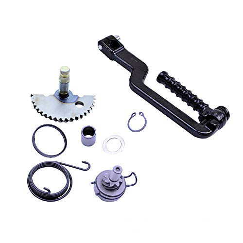Start Shaft - Chanoc Kick Start Shaft Gear Idle Gear for GY6 49cc 50cc ATV Scooter Moped 139QMA 139QMB Engine