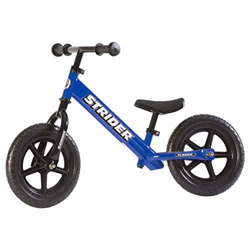 (Strider 12 Classic No-Pedal Balance Bike - Blue)