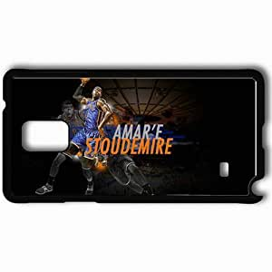 Personalized Samsung Note 4 Cell phone Case/Cover Skin 14643 knicks wp 49 sm Black
