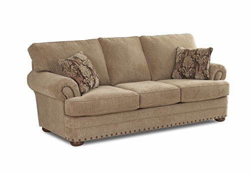 - Klaussner Cliffside Sofa, Oatmeal