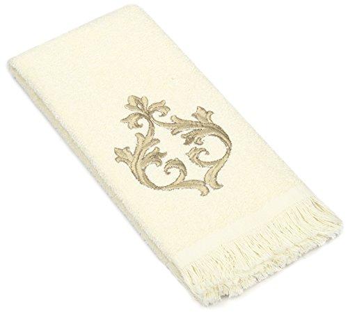 Avanti Linens Monaco Fingertip Towel, Ivory