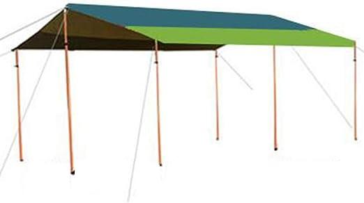 CAIJUN Toldo Impermeable Refugio Playa Lona Carpas De Camping Impermeable Protector Solar Portátil De Gran Tamaño Toldo De Playa Pérgola Barra De Soporte Ajustable, 2 Estilos: Amazon.es: Hogar