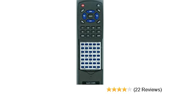 Replacement Remote Control for PROSCAN PLDED3996A, PLDED3273AB, PLD3283D,  PLDED3992A