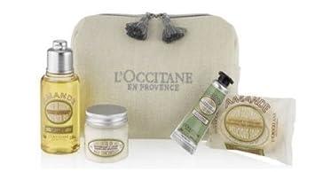 LOccitane Delicious Almendra Estuche - Ducha Aceite, almendra Leche Concentrado, Crema De