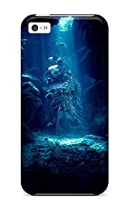 For Iphone 5c Premium Tpu Case Cover Cave Textures Shapes Shades Artistic Cgi Patterns Cool Reef Abstract Cool Protective Case
