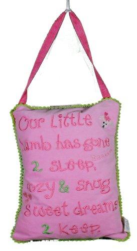 - Our Little Lamb Door Knob Pillow Hanger Girls Room Decor