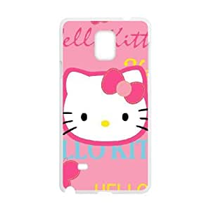 Samsung Galaxy Note 4 phone case White Hello-Kitty AAPU8018599