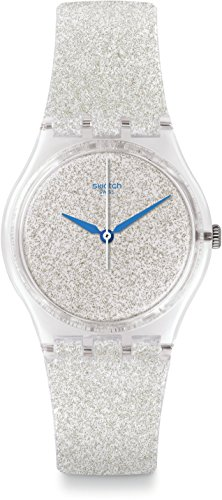 swatch-ge250-snowshine-silver-silicone-strap-watch