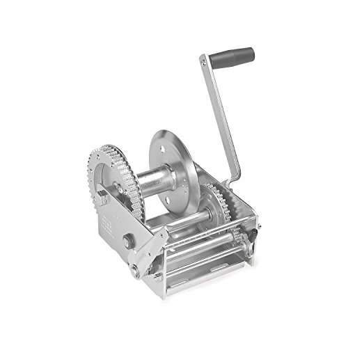 Fulton 142430 Dual Speed Winch with Hand Brake-3700 lbs. Capacity