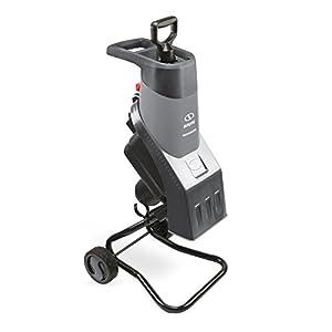 Sun Joe CJ602E-GRY 15-Amp Electric Wood Chipper/Shredder, Grey