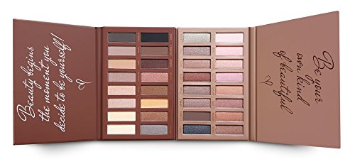 Best Pro Eyeshadow Palette Makeup - Matte Shimmer 16 Colors - Highly Pigmented - Professional Nudes Warm Natural Bronze Neutral Smoky Cosmetic Eye Shadows by Lamora (Image #8)