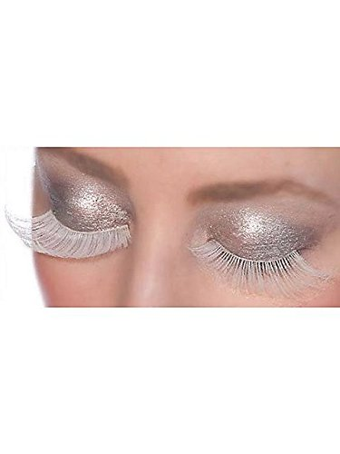 [Ghost White Lashes] (Halloween Costumes White Eyes)