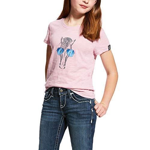 ARIAT Kid's Haberdashery Tee Lilac Pearl Size XL ()