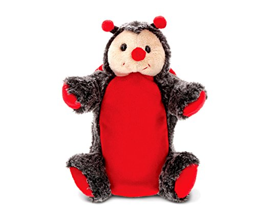 CoTa Global Gray and Red Ladybug - 9 inch - Super Soft Hand Puppet - Item #5486 ()