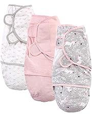 لفافة تقميط قطنية للأطفال للجنسين من شركة هيدسون بيبي
