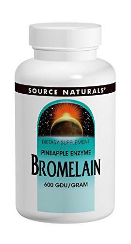 - Source Naturals Bromelain 500mg Proteolytic Enzyme Supplement - 120 Tablets (Pack of 2)