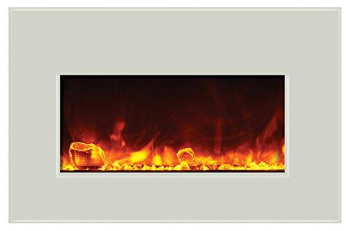 Cheap Amantii Electric Fireplace INSERT-30-4026-WHTGLS Black Friday & Cyber Monday 2019