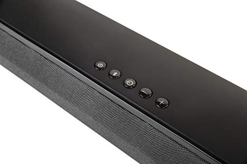 Polk Audio Signa Solo Sound Bar - Works with any TV | 10X More Bass | Voice Adjust Technology | Bluetooth Enabled Music Streaming | Compatible with Dolby Digital Surround Decoding | Black
