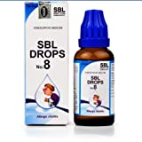 SBL Homeopathic Drops No 8 for Allergic Rhinitis (30ml) by USAMALL
